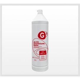 G3 acción desodorizante baños 1 ltr. c/12 ref: li245 - 2950039-G3 ACCION DESODORIZANTE BAÑOS 1L