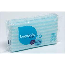 Esponja jabonosa begobaño 100gr c/ 3000 und. - 1670008 BEGOBAÑO
