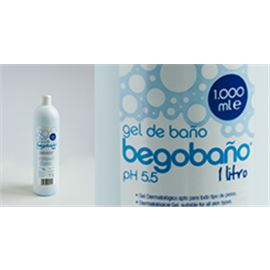 Gel begobaño dermatologico 750 ml c/ 15 ud - 1670006