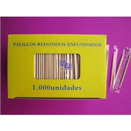 Palillos enfund. plast. 1000 ud c/ 50 milla - 2160004