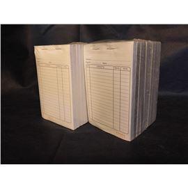 Blocks camarero 1/8 0+1 (imprenta) pq.10 ud - 2010005-BLOCKCAMARERO0+2