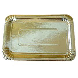 Bandeja cartón nº13 34 x 42 oro c/200 un - 1030059- BANDEJA CARTON ORO