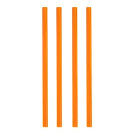 Sorbete 8mm rig funda plast cnt8x220r fpp 10x500 naranja c/10000 ud - 2170032 - SORBETE NARANJA 8MM