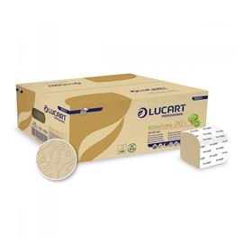 "Papel ""econature"" higienico interpleg c/40 paq lucart ref: 811a74 - 2360021 - PAPEL HIGIENICO INTERPLEGABLE ECONATURE"