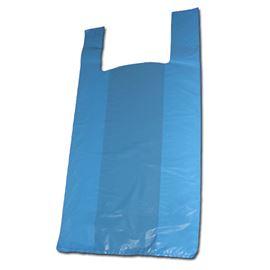 Bolsa camiseta 45x55 color azul 1 kg c/20 kg - 3710007 - BOLSA CAMISETA COLOR AZUL