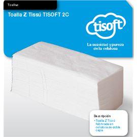 """Toalletas tissue """"tisoft"""" c/ 20 paq. 200 ud(ce112) - 2320013"""
