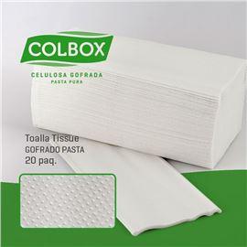 Toalletas z tissue c.c. 2 capas c/ 20 paq. - 2320009-WEB