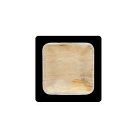 Mini plato cuadrado hoja palma 11x11 cm - MACADAMIA_19