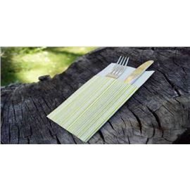 Serv kanguro air laid bambu 33x40 basic pistacho c/480 und - 1340140