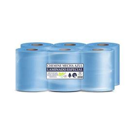 Cheminé secamanos gofrado rec s/6un 1ª et..azul platf. - 2310039