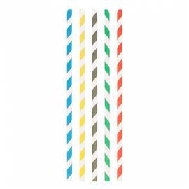 Canutillos papel rectos surt. ø 0,60x20 cm (6000 unid) ref: 180.89 - 2170033